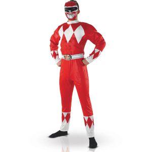 Costume Power Rangers Musclé Homme-Taille unique