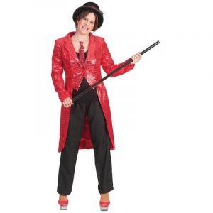 Veste Femme - Queue de Pie - Rouge - Taille S