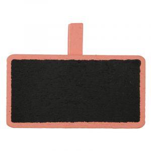 Porte-noms mini ardoises x12 - Corail