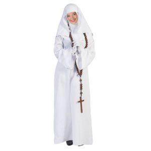 Déguisement de Bonne Soeur - Nonne - Blanc - Femme - Taille M