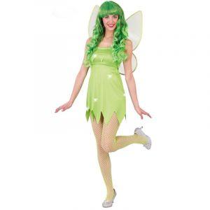 Déguisement Fée Clochette Verte - Taille M