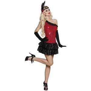 Costume Charleston Femme - Rouge