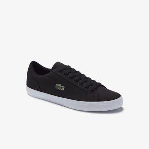 Lacoste Sneakers Lerond homme en toile Taille 45 Noir