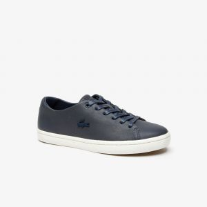 Lacoste Sneakers Showcourt 2.0 femme en cuir Taille 38 Navy/offwhite