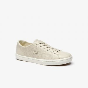Lacoste Sneakers Showcourt 2.0 femme en cuir Taille 42 Off White/off White