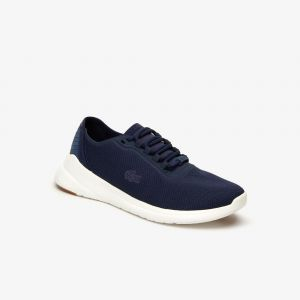 Lacoste Sneakers LT Fit femme en textile Taille 42 Navy/offwhite