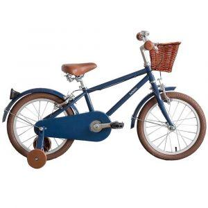 Vélo enfant Moonbug Bobbin 16 pouces bleu marine 4 - 6 ans