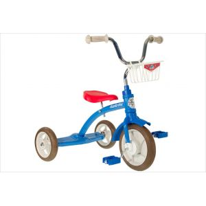 Tricycle retro bleu enfant 2 à 5 ans