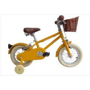 Vélo jaune 12 pouces Bobbin Moonbug