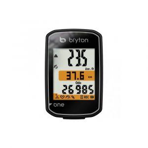 Compteur Velo GPS Bryton Rider One E - Noir