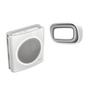 Carillon sans fil 200m flash - diBi Flash - Blanc