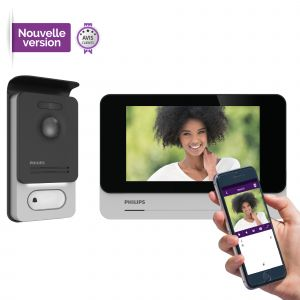 Visiophone connecté smartphone - Philips WelcomeEye Connect - Philips WelcomeEye Connect 2 (version améliorée)