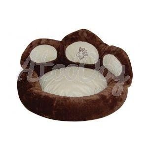 canapé couchage chien Modèle Chic Beige  BeigeDiam. 55cm