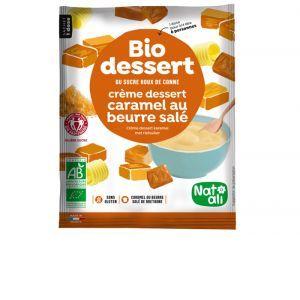 NAT-ALI Biodessert Crème Caramel au Beurre Salé - 60 g