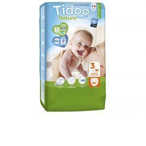 Couches Tidoo Nature - Couches Écologiques - Pack Économique T3 / 4-9 kg