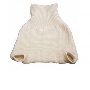 POPOLINI Culotte de Protection en Laine Vierge à Enfiler L = 9 - 15 kg