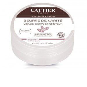 CATTIER Beurre de Karité 1 pot de 100 g