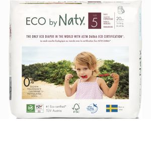 NATY Culottes d'Apprentissage Jetables ECO - Taille 5 Junior 12-18 kg Pa