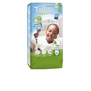 Couches Tidoo Nature - Couches Écologiques - Pack Économique T6 / 16-30