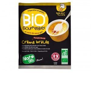 NAT-ALI Bio'Gourmandises - Crème Brûlée - 80 g