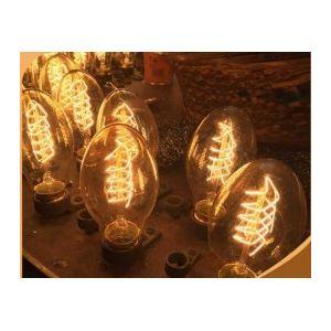 Lot de 3 Lampes / ampoules vintage bulb Edison E27 BT55