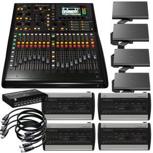 Behringer bundle X32 Producer + 4 systèmes de monitoring P16