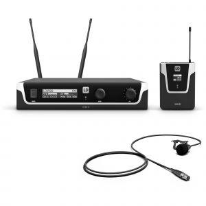 LD Systems U506 BPL système micro cravate sans fil (655 - 679 MHz)