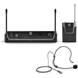 LD Systems U305 BPH micro serre-tête et émetteur de poche (584-608 MHz)