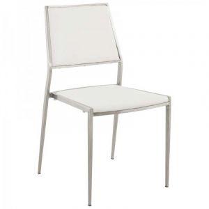 Chaise Design Classic Blanc - Paris Prix