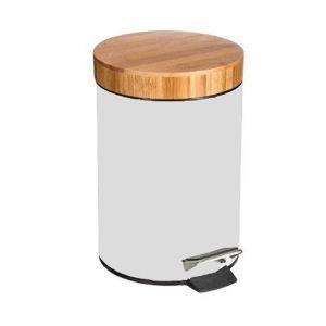 Poubelle bambou salle de bain comparer 25 offres for Poubelle salle de bain en bambou