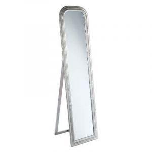 Miroir 40x30 comparer 151 offres for Miroir mural rectangulaire bois 50 x 160 cm argent length