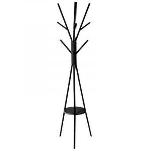 """Porte Manteau Design """"""""Arbre"""""""" 180cm Noir - Paris Prix"""""""