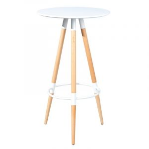 table bar blanc laque comparer 75 offres