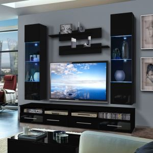 colonne murale tv comparer 406 offres. Black Bedroom Furniture Sets. Home Design Ideas