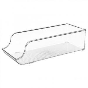 Bac de Rangement Frigo 34cm Transparent - Paris Prix