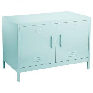 console meuble bleu comparer 76 offres. Black Bedroom Furniture Sets. Home Design Ideas