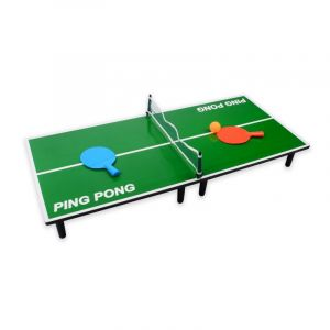 Table de Mini Ping Pong 90cm Vert - Paris Prix