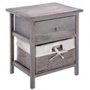 meuble table de chevet paulownia comparer 12 offres. Black Bedroom Furniture Sets. Home Design Ideas