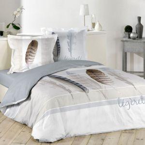 housse de couette marron 260 comparer 63 offres. Black Bedroom Furniture Sets. Home Design Ideas
