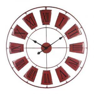 Pendule 24 h comparer 79 offres for Prix horloge