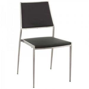 Chaise Design Classic Noir - Paris Prix