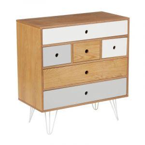 commode metal gris comparer 212 offres. Black Bedroom Furniture Sets. Home Design Ideas