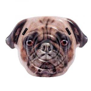 """Matelas Gonflable """"Dog"""" 173cm Beige - Paris Prix"""