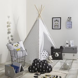 lit tipi comparer 140 offres. Black Bedroom Furniture Sets. Home Design Ideas