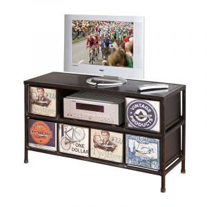 meuble tv vieilli comparer 97 offres. Black Bedroom Furniture Sets. Home Design Ideas