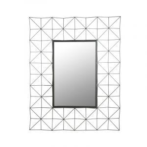 Miroir rectangulaire noir comparer 196 offres for Miroir rectangulaire noir