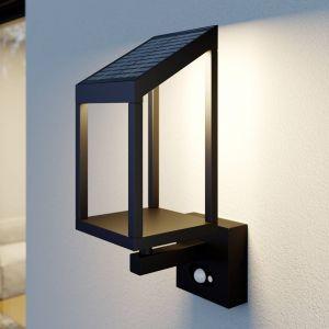 Lucande Timeo applique d'extérieur solaire LED