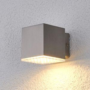 Applique d'extérieur LED Lydia compacte en inox