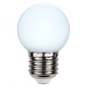 Ampoule LED E27 G45 guirlande, blanche 6500K