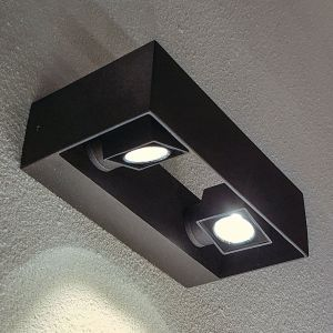 Applique d'extérieur LED Vigo à 2 lampes